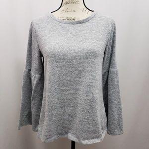 a.n.a. Bell Sleeve Sweatshirt Medium